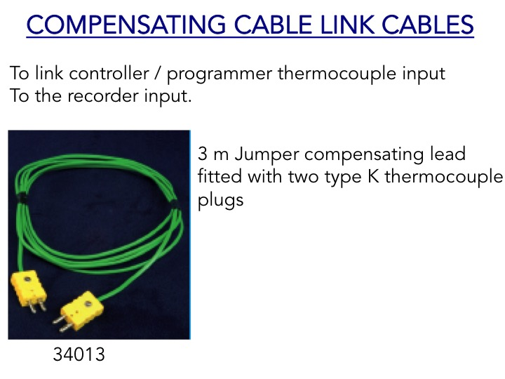 Compensating Link Cable - controller/programmer to recorder input