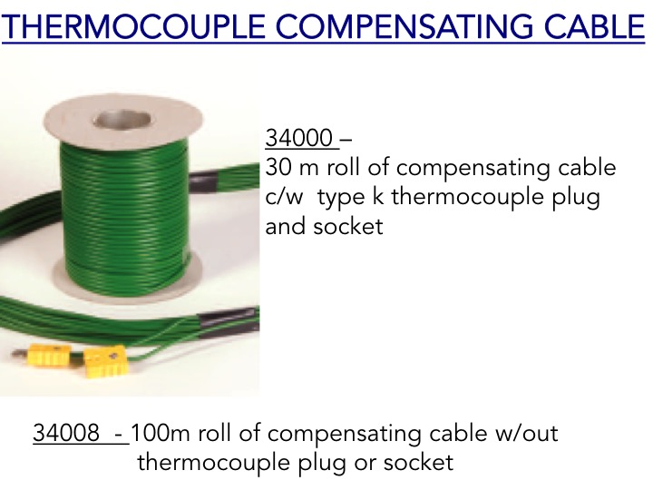 Roll of Thermocouple Compensating Cable - 34000 - 34008