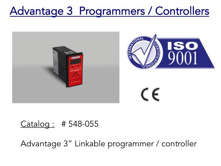 Advantage 3 Linkable programmer controller heat treatment unit