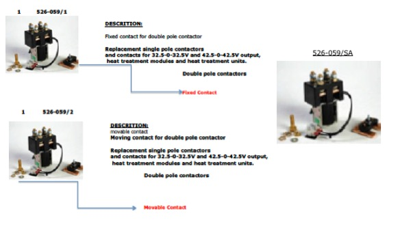 Contactor Kit-is 526-059